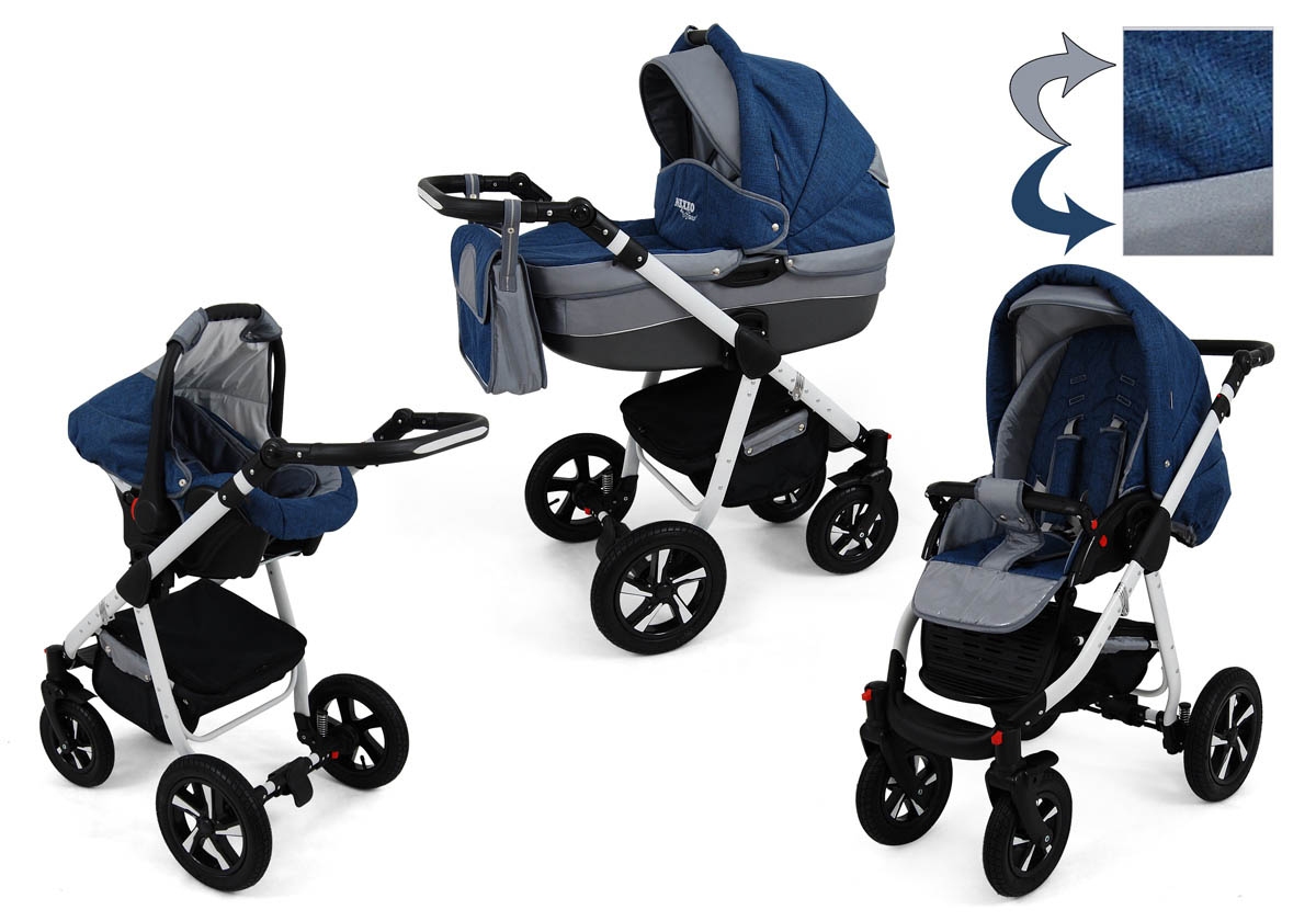 Nexxo 7 Baby Pram Pushchair Buggy Stroller Car Seat