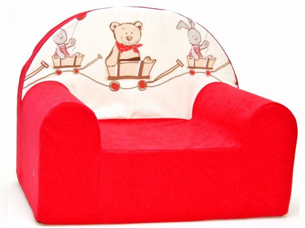 Children's Foam Armchair type W - WDF26 - Animals