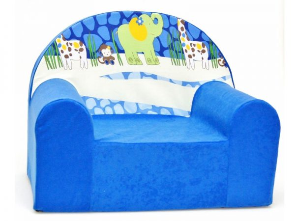 Children's Foam Armchair type W - WFC16 - Animals
