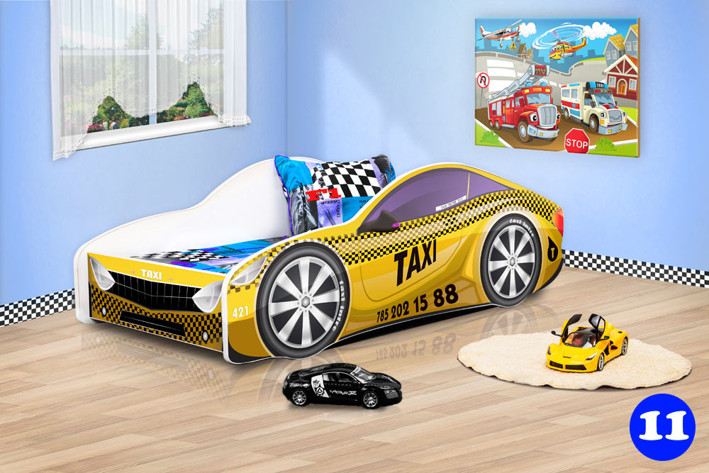 PPG4KIDS Boys Racing Car Bed Type R 11