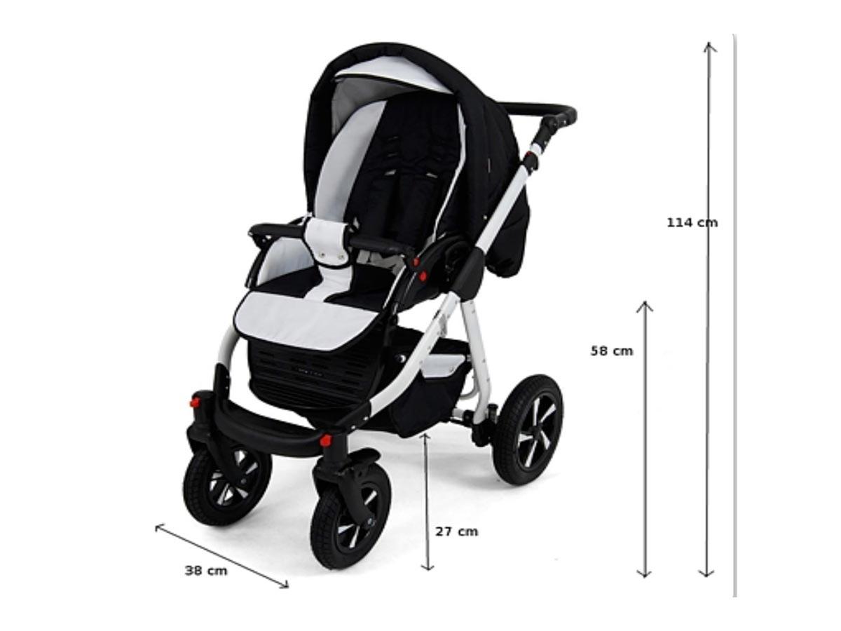 Nexxo Baby Pram Pushchair Buggy Stroller Car Seat Travel