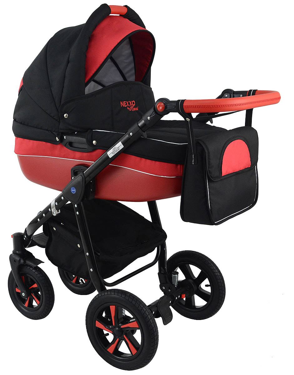 Trolley Nexxo Black (Red) Travel System 2in1 / 3in1 – Preview