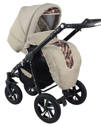 Nexxo Black (Latte) Travel System