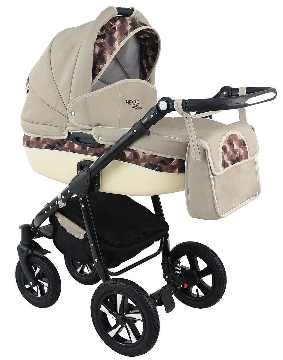 Trolley Nexxo Black (Latte) Travel System 2in1 / 3in1 – Preview