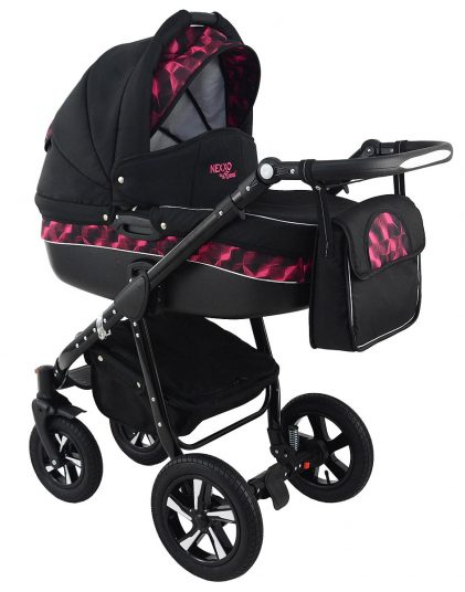 Trolley Nexxo Black (Purple) Travel System 2in1 / 3in1 - Preview