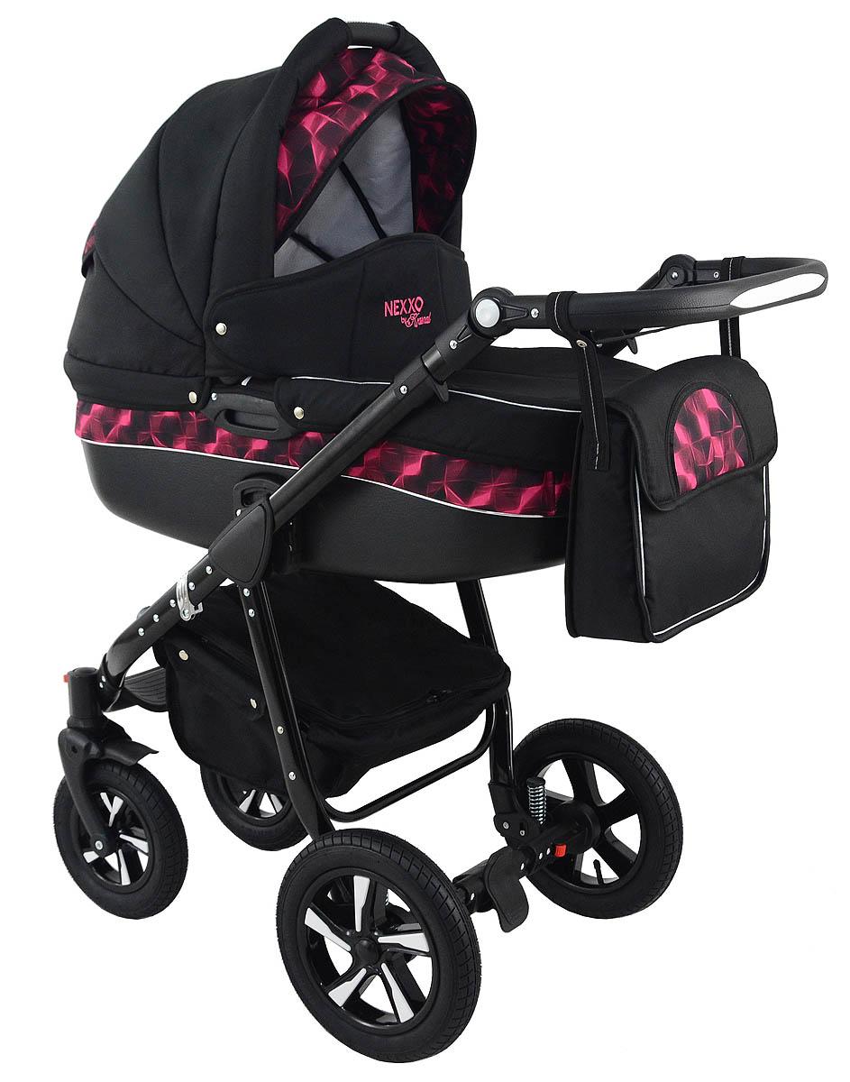 Nexxo Black Purple Travel System 2in1 3in1 Ppg 4 Kids