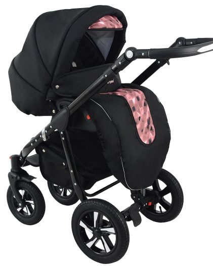 Nexxo Black (Brown) Travel System