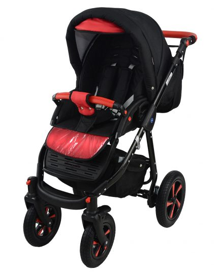 Nexxo Black (Red) Travel System