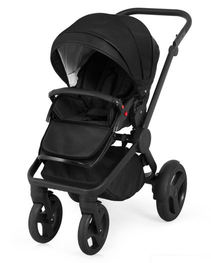Trolley Qumes Flow 3in1 Eco-Leather Travel System QFL.NOIR Black
