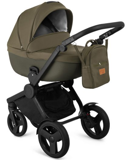Trolley Qumes Flow 3in1 Eco-Leather Travel System QFL.PERLATO Green