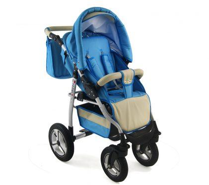 Trolley SPORT GT Blue Stroller